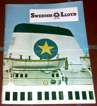 The Swedish Lloyd 1869-1969. The first 100 years of history, booklet by Ture Rinman incl many photographs.