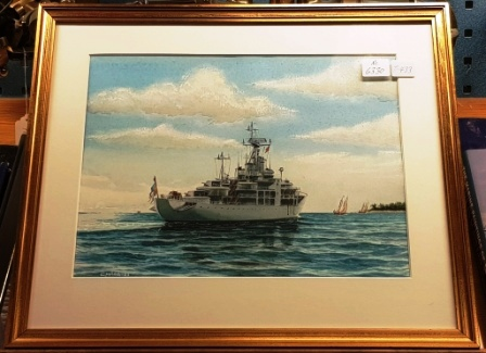 Depicting HMS Älvsnabben (Swedish Navy)