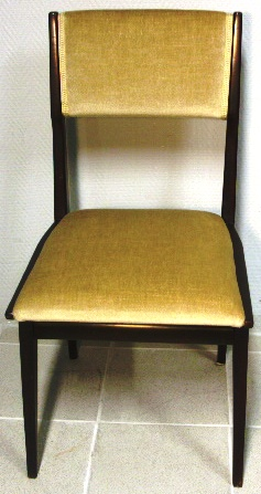 Mahogany chair. 1960's.