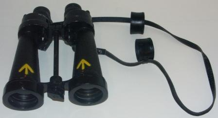 20th century anonymous binocular as used by the Navy. Marked AP 1900A x7, R/86/AVL 24/.