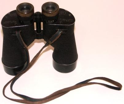 20th century SARD binocular 7x50. Made by Square D Company Flushing New York. Marked BU. Aero. U.S. Navy.