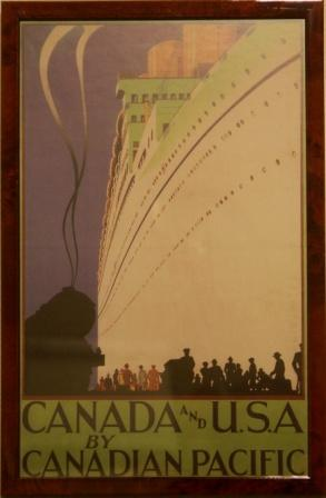 Canada and U.S.A. by Canadian Pacific