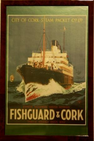 Depicting CLASSIC of City of Cork Steam Packet Co Ltd.
