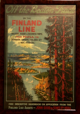Holiday Tours & Business trips by the Finland Line