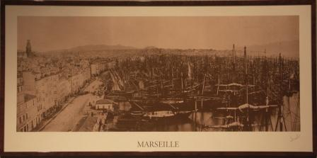 Marseille harbour, late 19th century