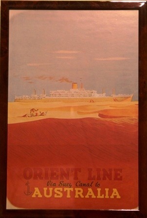 Via Suez Canal to Australia with Orient Line