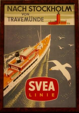 Depicting a Svea Line passenger ferry