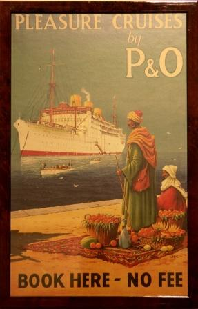 Pleasure Cruises by P&O (The Peninsular and Oriental Steam Navigation Company)