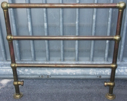 20th century brass radiator