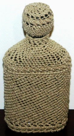 Rope-coated Glass Bottle