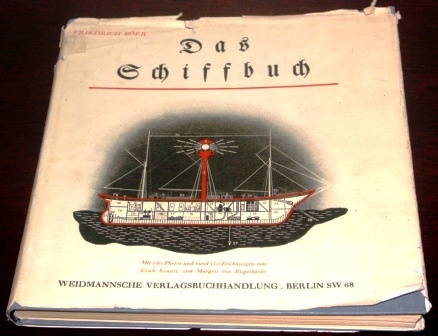Richly illustrated German maritime book. Incl 160 photographs and 350 drawings. Published in 1939 by Friedrich Böer. 170 pages.