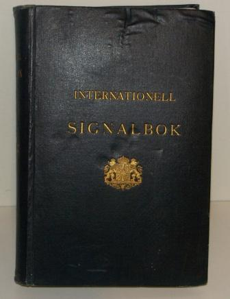 1902 International Code of Signals Book