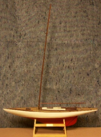20th century yacht-model depicting the sailing yacht SILJA 1929, Scale 1:20. Designed by Johan Anker.