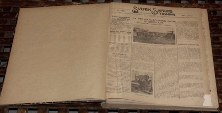 """Svensk Sjöfarts Tidning."" The Swedish Shipping Gazette. Bound volumes dated between 1919-1968."