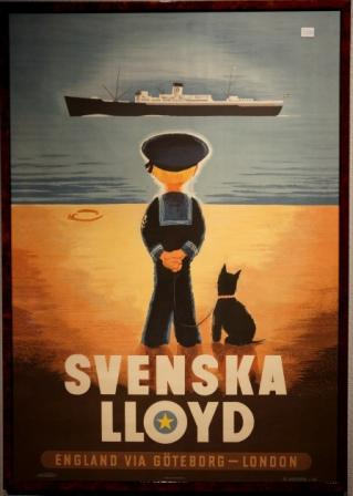 Svenska Lloyd (Swedish Lloyd) Gothenburg - London