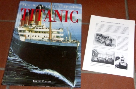 The Wall Chart of the TITANIC by Tom McCluskie.