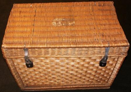 Early 20th century intertwined traveller trunks