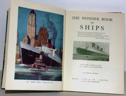The Wonder Book of Ships - 17th edition